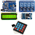 Paket Belajar Kontrol alat berbasis waktu dengan arduino input melalui keypad 085743320570