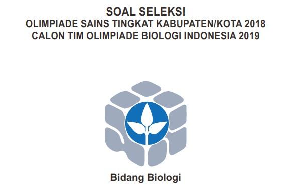 Soal OSK Biologi 2018