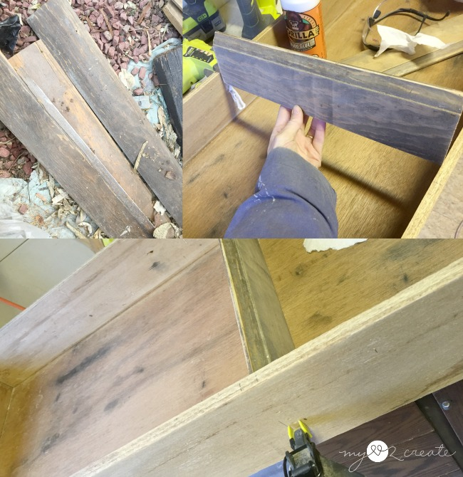 adding shelves to drawer cabinet