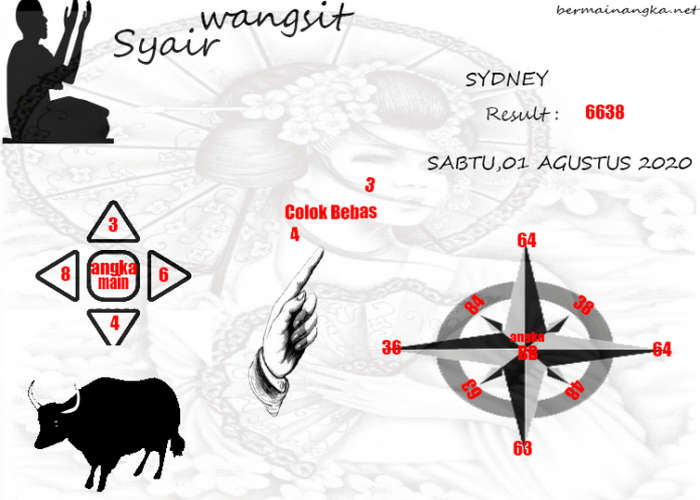 Kode syair Sydney Sabtu 1 Agustus 2020 232