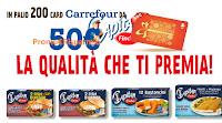 Logo Capitan Findus La qualità che ti premia: in palio 200 card Carrefour da 50€