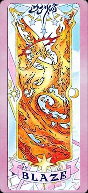 Blaze clear card