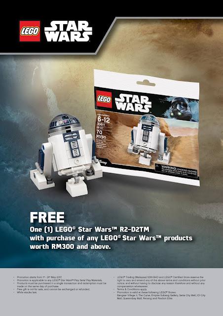 LEGO Star Wars Free R2-D2