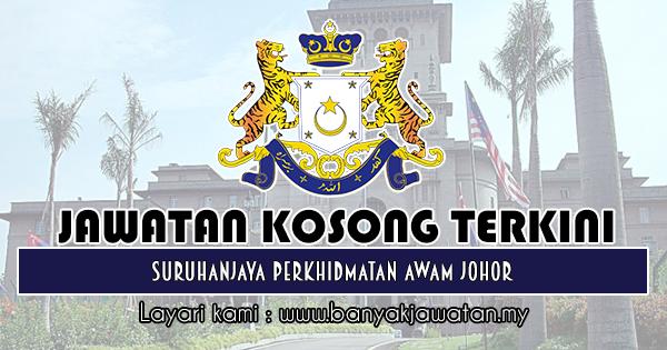 Jawatan Kosong 2018 di Suruhanjaya Perkhidmatan Awam Johor (SPAJ)