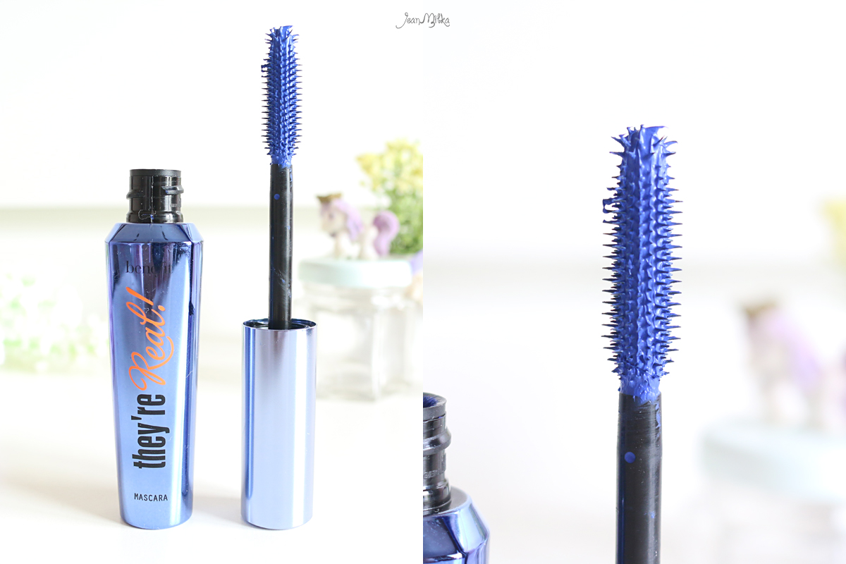 benefit cometics, benefit, benefit indonesia, benefit mascara, benefit they're real mascara, they're real, mascara, review, beauty blog, beauty, color mascara, coloured mascara