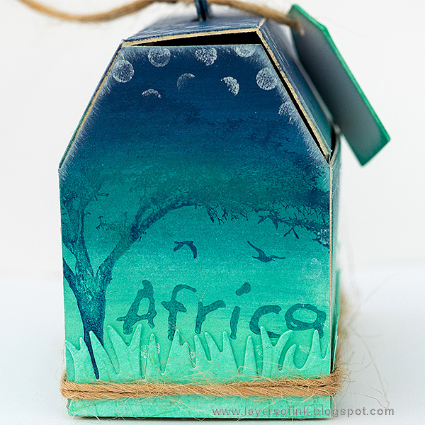 Layers of ink - Ombré Toolbox Tutorial by Anna-Karin with Eileen Hull Sizzix Toolbox die.