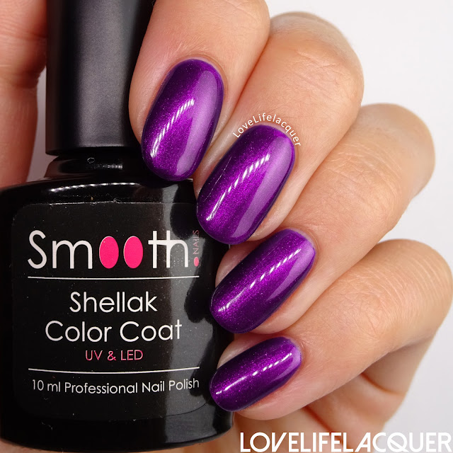 SmoothNails Purple Passion swatch