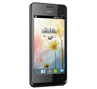 Lava Iris 405 specifications and price in India