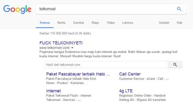 Hacker Retas Website Telkomsel