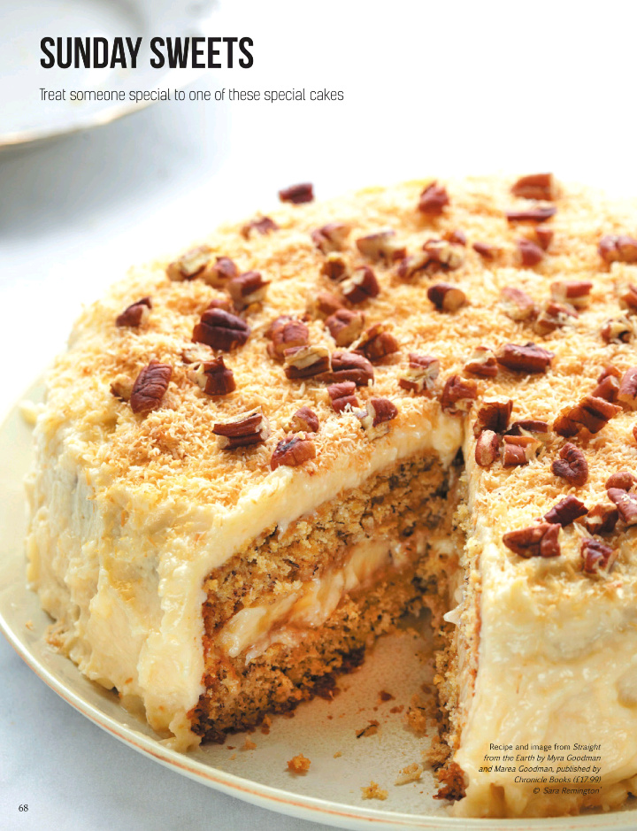 Equally Appealing, If A Different Sort Of Recipe, Was A Banana Coconut Cake  That Sandwiched Coconut Cream Between Two Layers Of Banana Cake.
