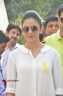 Actress Rakul Preet Singh at Endometriosis Awareness Walk at Apollo Cradle  0014.jpg