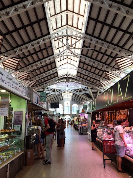 巴塞隆納菜市場