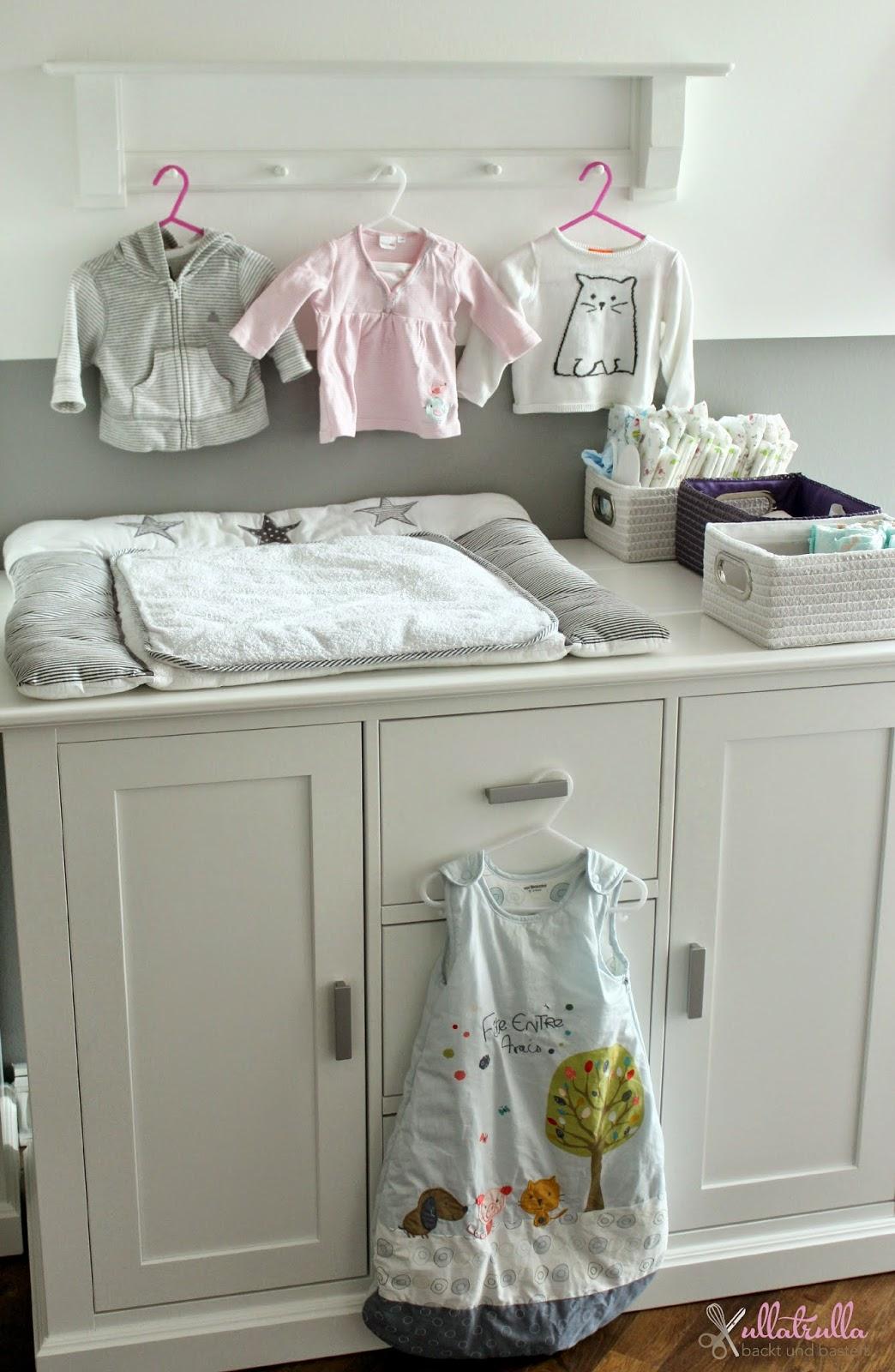 Ullatrulla Backt Und Bastelt Babyzimmer In Grau Und Weiss Roomtour