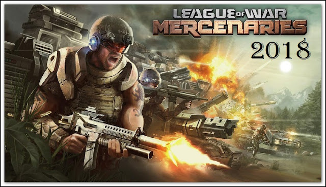Download League of War Mercenaries Apk Моd Android Game