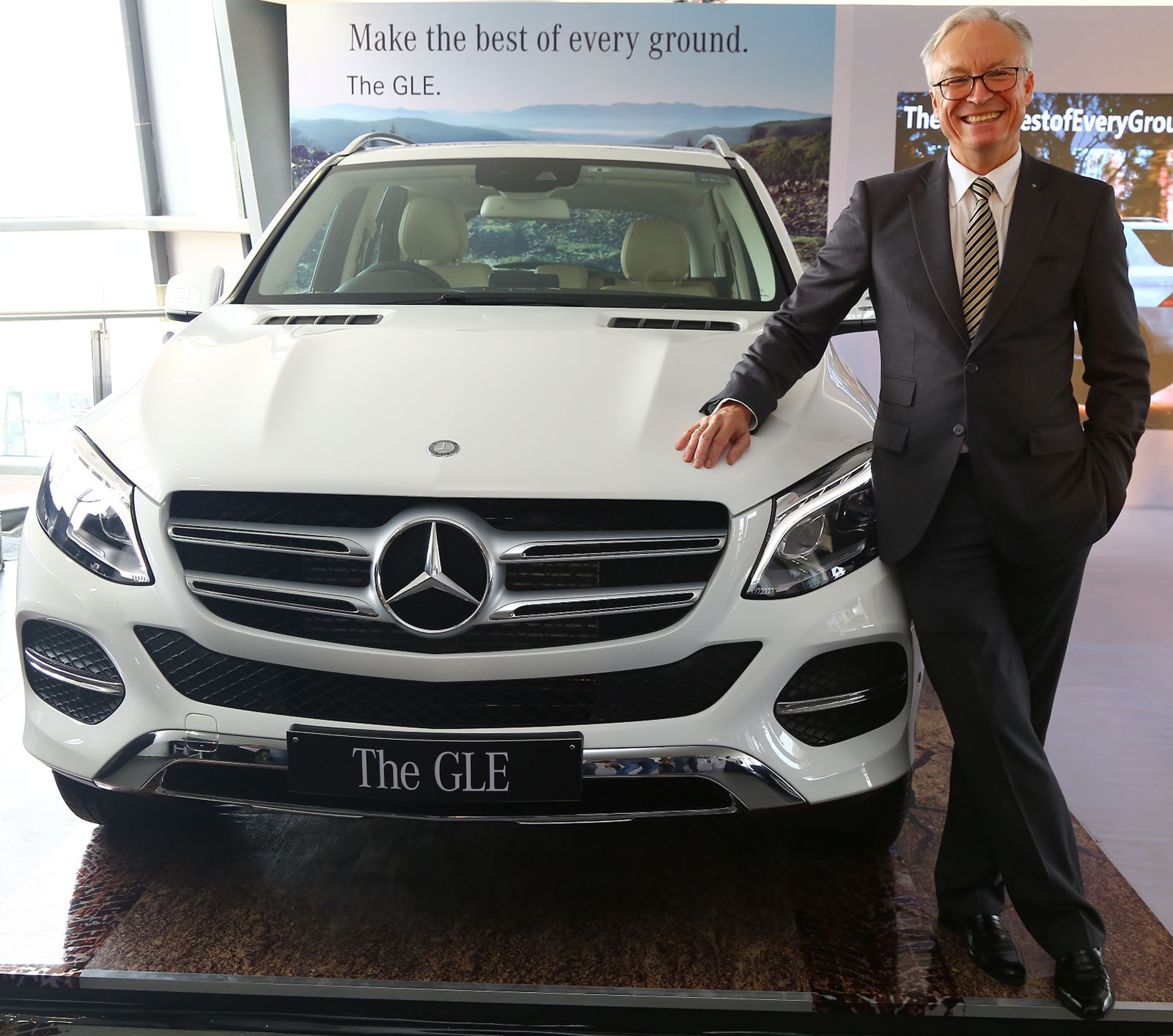 SouLSteer.com: Mercedes-Benz GLE Class Arrives In India