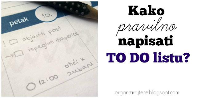 TO DO lista