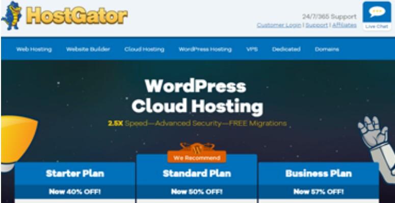 HostGator WordPress Cloud