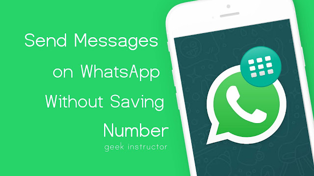 Send message on WhatsApp without saving number