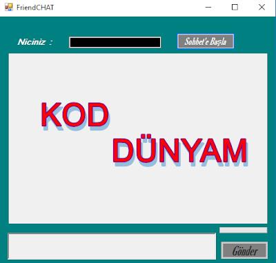Chat Programı C#