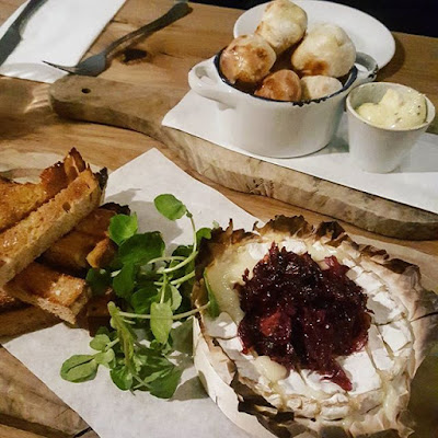 Camembert cheese starter with sourdough and doughballs