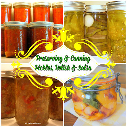 Preserving and Canning Pickles, Relish, & Salsa