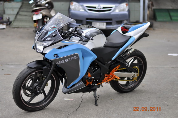 modifikasi cbr 250 thailand1  terbaru