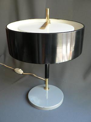 LAMPARA DE ESCRITORIO AÑOS 50 METAL