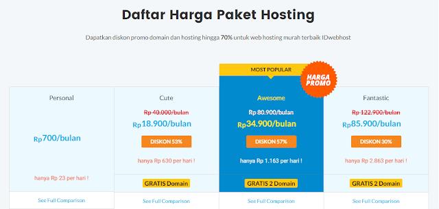 hosting murah terbaik di Indonesia