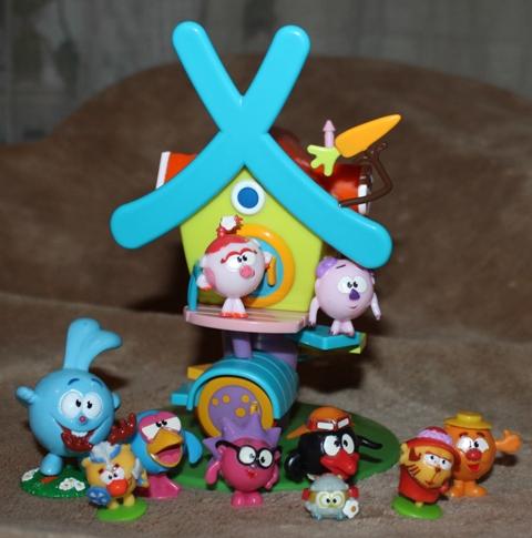 Любимые игрушки: Наши Смешарики (фото)