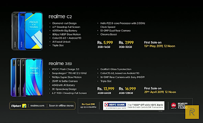 Realme 3 Pro Phone Price and Full Details