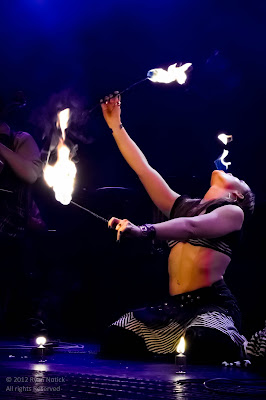 Fire Dancer at the Vagabond Opera Concert, 2012