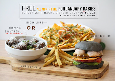 myBurgerLab Free Burger Set Nacho Libre Birthday Promo