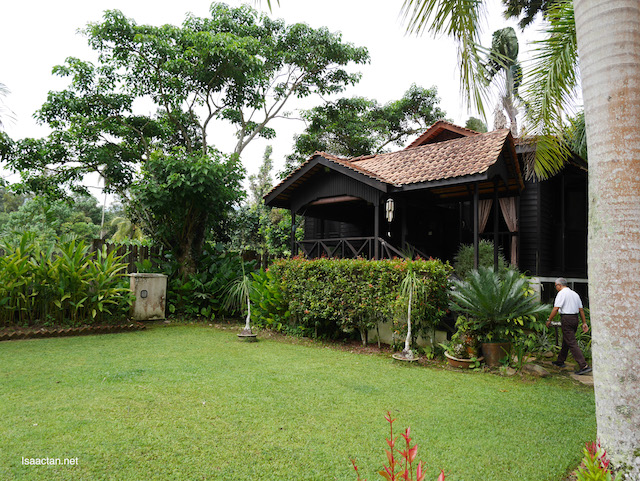 One of the six villas in Aman Rimba Private Estate