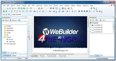Blumentals WeBuilder 14.1.0.185 Full Version