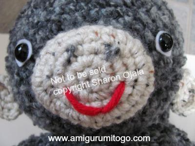 Amigurumi Freely Fb : Darcy large monkey free crochet pattern ~ amigurumi to go