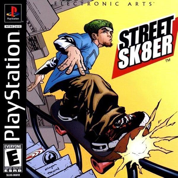 Street Sk8er  - PS1 - ISOs Download