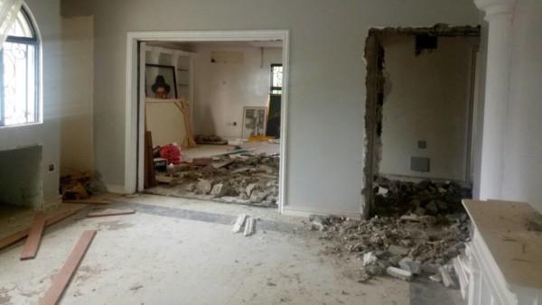 Goodluck-Jonathans-Burgled-Home