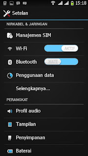 Custom Rom Xperia M2 for Advan S5E