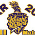 KKR All Matches 2019