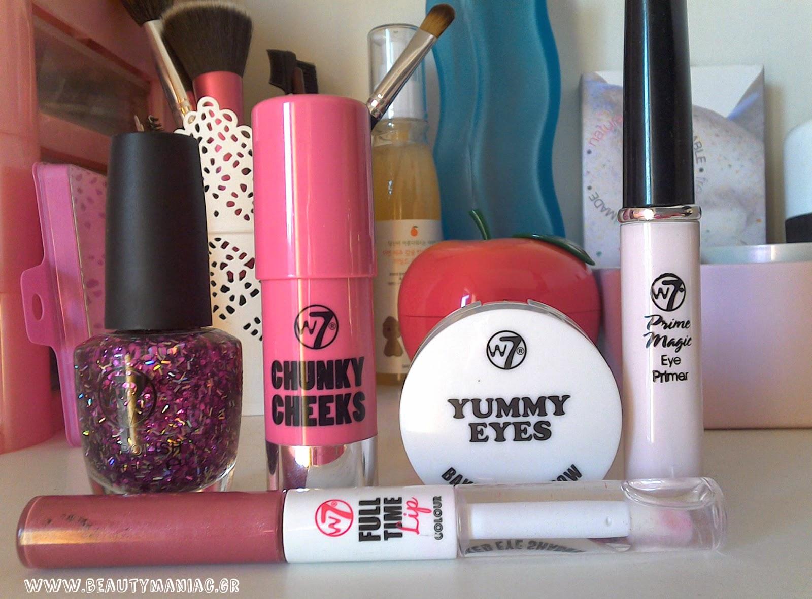 4b2735d89e3 Beauty Maniac - Εδώ μιλάμε για ομορφιά!: 5 Makeup Products I am loving by  w7!
