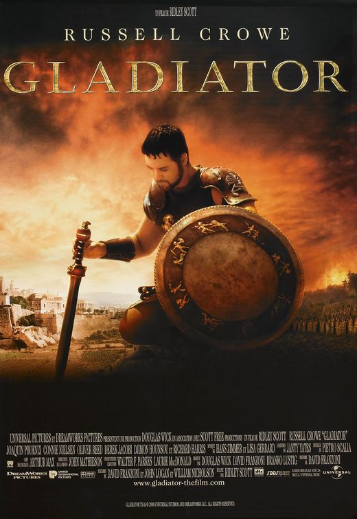Gladiator movie costume