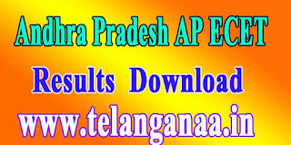 Andhra Pradesh AP ECET APECET 2017 Results Download