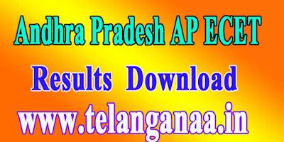 Andhra Pradesh AP ECET APECET 2018 Results Download