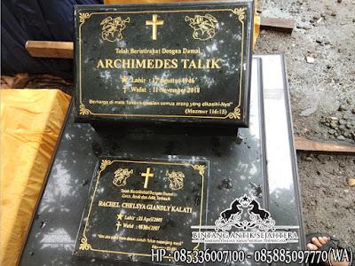 Makam Granit Kristen, Model Kuburan Kristen Modern, Makam Batu Granit