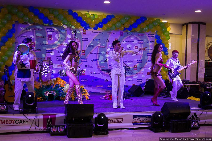 Alex Blanco на сцене в Саранске