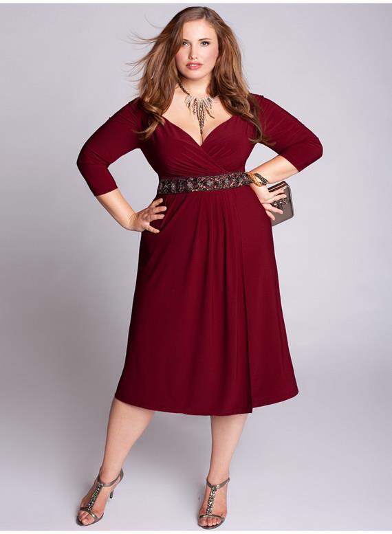 fashion dresses for curvy women. Black Bedroom Furniture Sets. Home Design Ideas