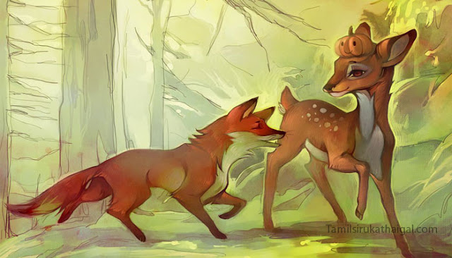 Deer and Fox - Thirukural Moral Story in Tamil