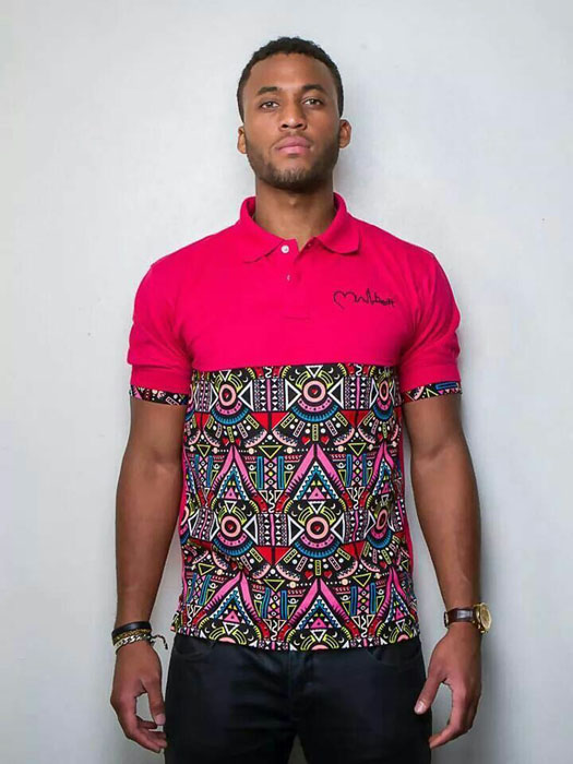 latest ankara styles for men T-shirt
