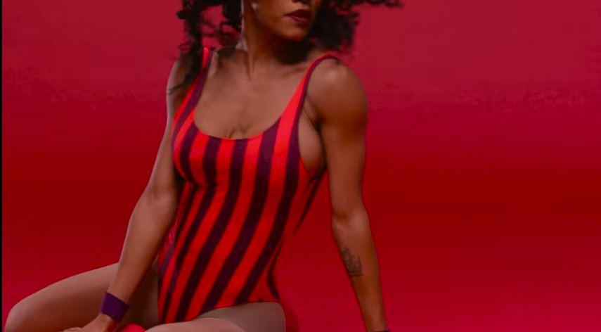 """Modella Reebok pubblicità """"Free Your Style"""" Ft. Teyana Taylor con Foto - Testimonial Spot Pubblicitario Reebok 2017"""