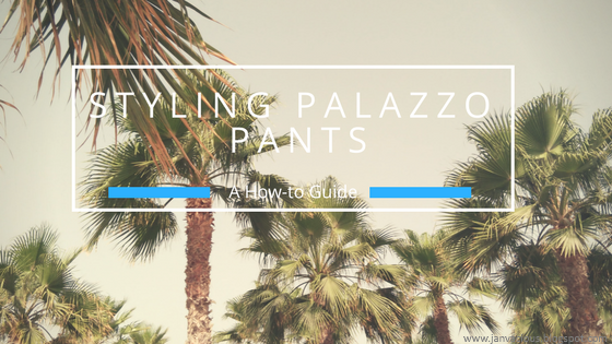 How to Style Plazzo Pants - Blog Header